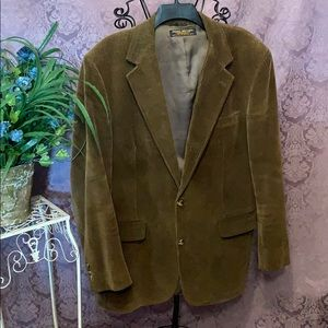Brooks Brothers Vintage Corduroy Union Tag Blazer